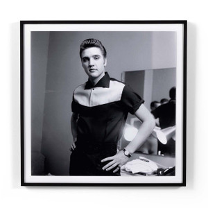 Elvis Presley On Milton Berle By Getty Images