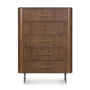 Flene 5 Drawer Dresser - Bluestone