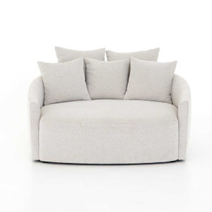 Chelsy Media Lounger - Delta Bisque