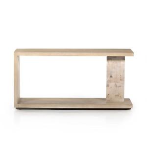 Dan Console Table - White Mahogany