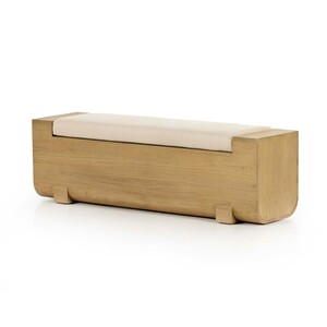 Vivica  Accent Bench - Natural Nettlewood