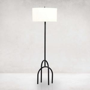 Arc Floor Lamp - Matte Black