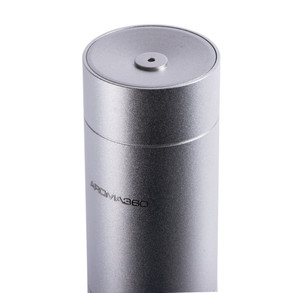 Essential Oil Waterless Remote Controled Diffuser for Aromatherapy and Scent Diffusing in Silver