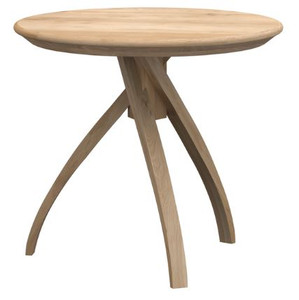 Curve Oak Side Table