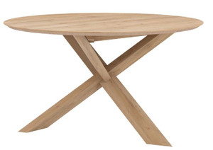 Light Oak Lagos Round Dining Table