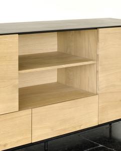 Azura Black Sideboard 3 Doors, 2 Drawers