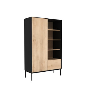 Azura Black Storage Cupboard