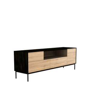 Blackbird Oak TV Stand Media Cabinet