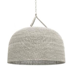 Sanoma Oversized Woven Pendant
