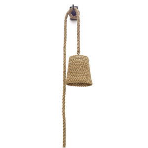 Palecek GREEN OAKS WALL PENDANT  Jeffrey Alan Marks Collection. 2716-01 Wall light Hanging Rope