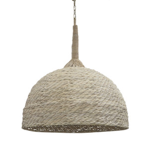 Chiara Oversized Wicker Pendant