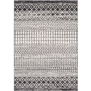 Black and White Calin Rug
