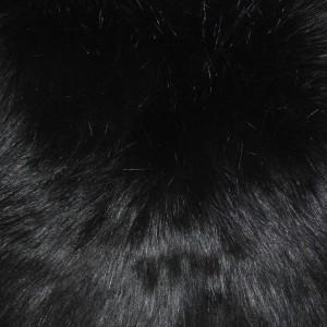 Black Fox Pillow