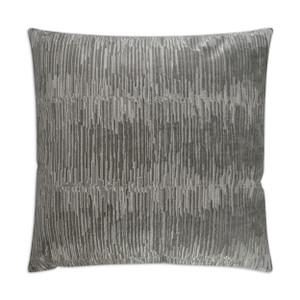 Techno Throw Pillow - Platinum