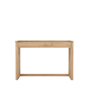 Oak Channel Frame Office Desk