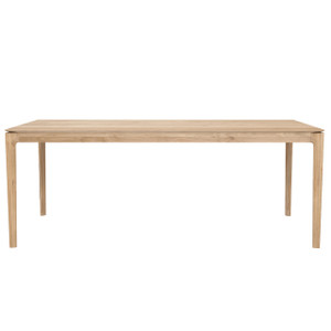 "Oak and Teak Bok Dining Table - 55"" to 95"""