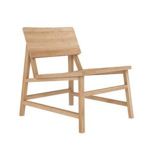 Reveal Light Oak Lounge Chair