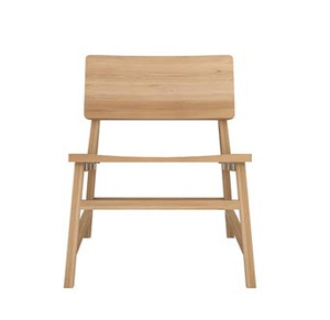 Reveal Light Oak Lounge Chair