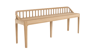 Sartore Spindle Oak Bench Collection