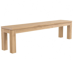 Oak Straight Dining Bench
