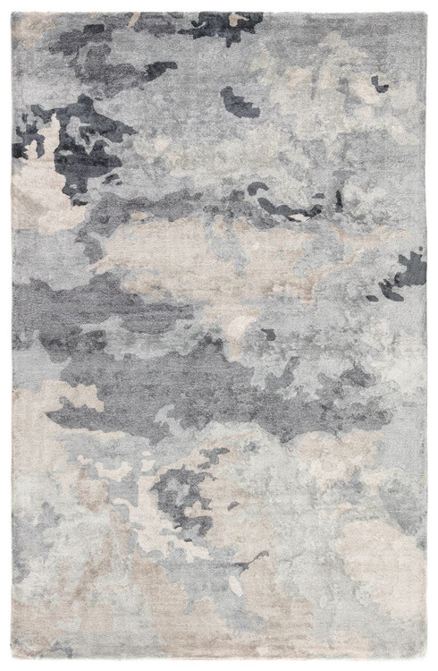 Fluid Transcend Glacier Hand Knotted Area Rug Free Shipping