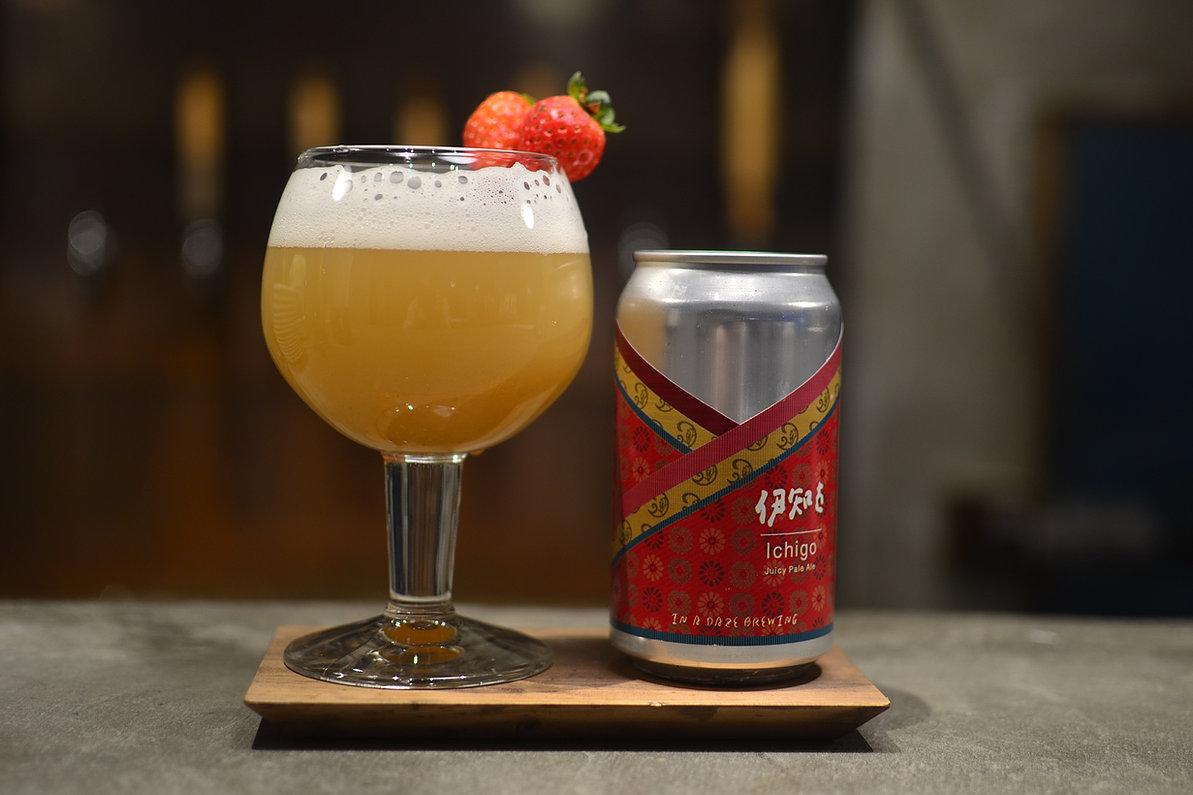 平安時代の辞書にも載っている「伊知古」を名前に使った、現代の技術が詰まった夏秋いちごの伊知古Juicy Pale Aleです。