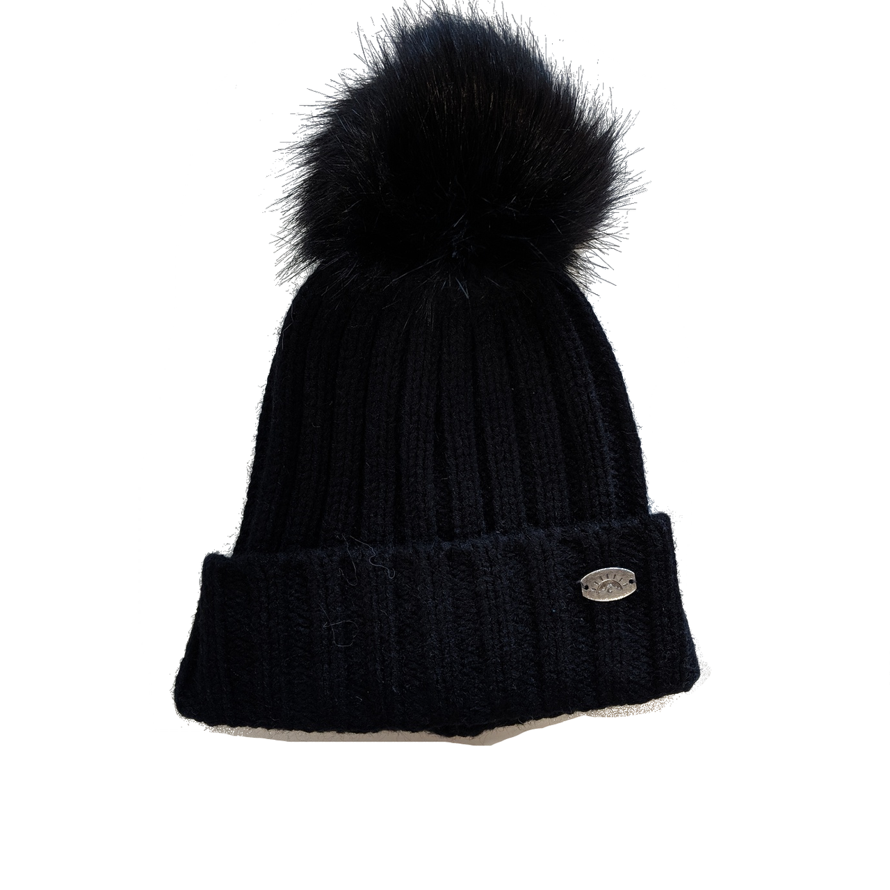 Calikids Pom Pom Hat - Black - Active Baby Canadian Online Baby Store f1d2e451b90