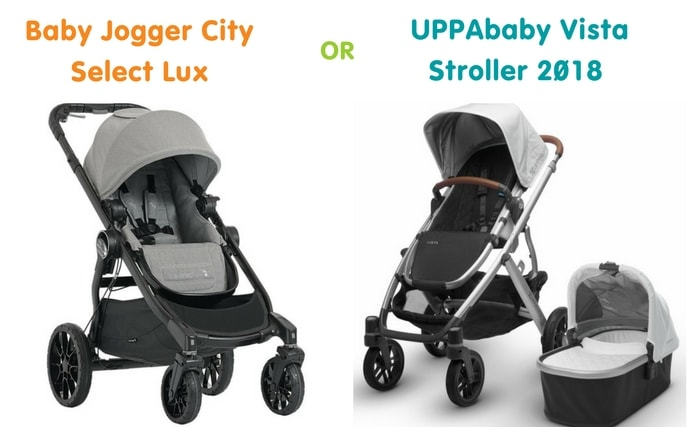 Out For A Stroll Uppababy Vista 2018 Vs Baby Jogger City Select
