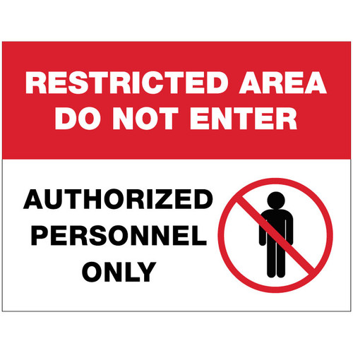 Restricted Area - FREE Printable Download