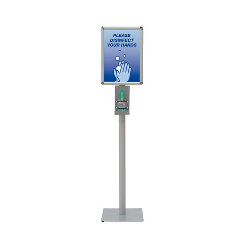 Deluxe Hand Sanitizer Stand Kit Full-Color Imprint