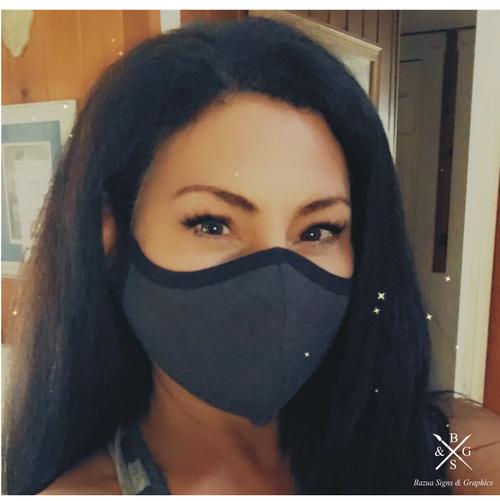 Reversible 3D Adult Face Mask - 3 Pack