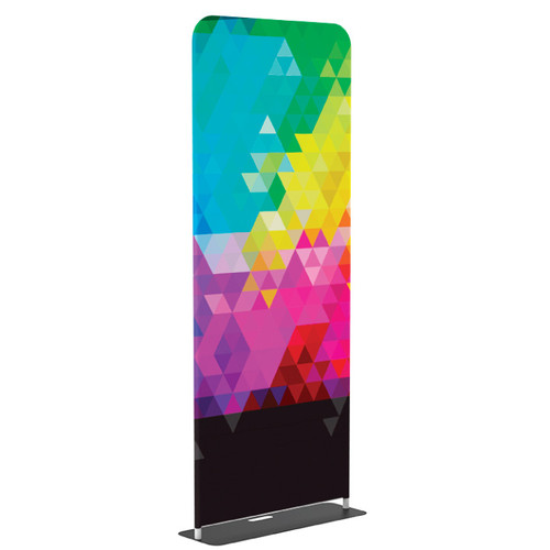 """Custom Tension Fabric Banner & Stand - 36"""" x 90"""""""