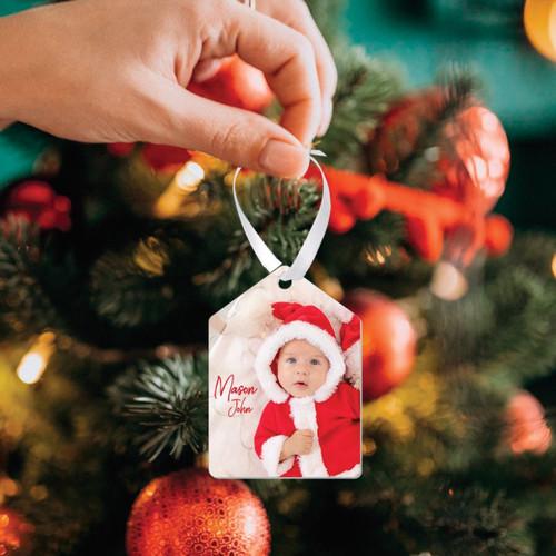 Aluminum Holiday Ornament - Tag