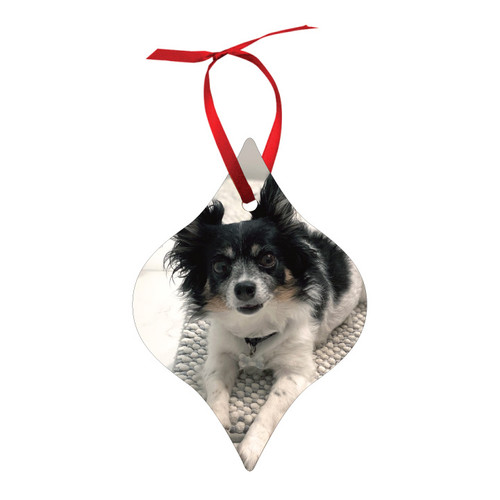 Aluminum Holiday Ornament - Tapered