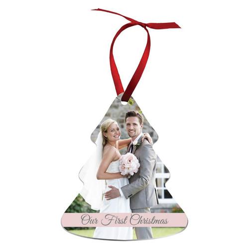 Aluminum Holiday Ornament - Tree