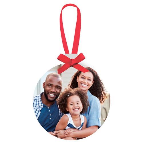 Aluminum Holiday Ornament - Circle (OUT OF STOCK)