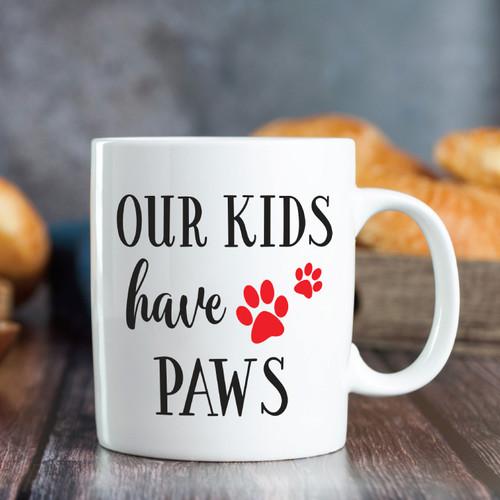 Our Kids Have Paws Mug