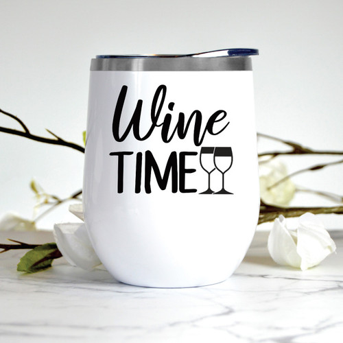 Wine Time Wine Tumbler