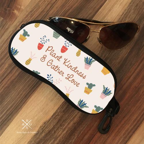 Eyeglass Soft Case - Plant Kindness & Gather Love