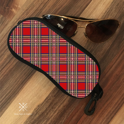 Eyeglass Soft Case - Scotty Red Plaid