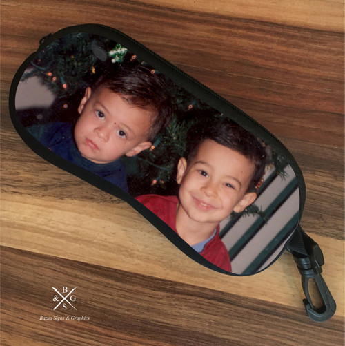 Eyeglass Soft Case - Two Images
