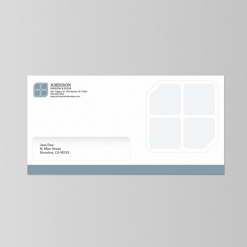 "Envelopes 4.125"" x 9.5"" -  w/ Window"