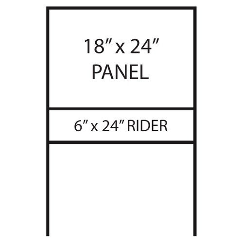 SLIP-2 Metal Frame Stake