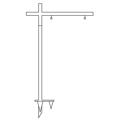 Condo Metal Listing Post - CLP-1