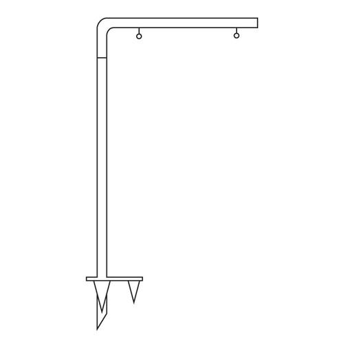 Condo Metal Listing Post - CLP-2