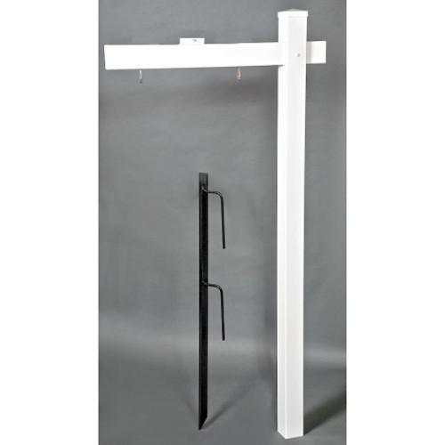 Standard 6' PVC Real Estate Post