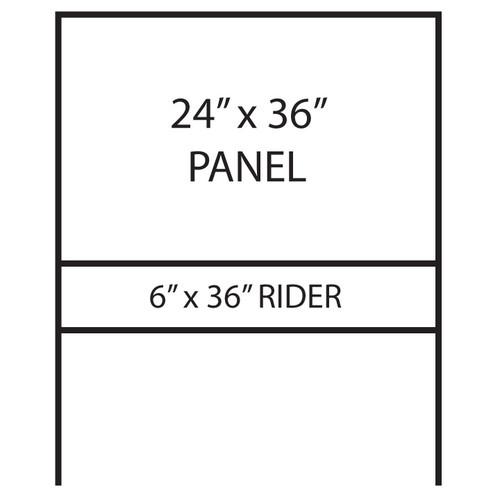 SLIP-5 Metal Frame Stake