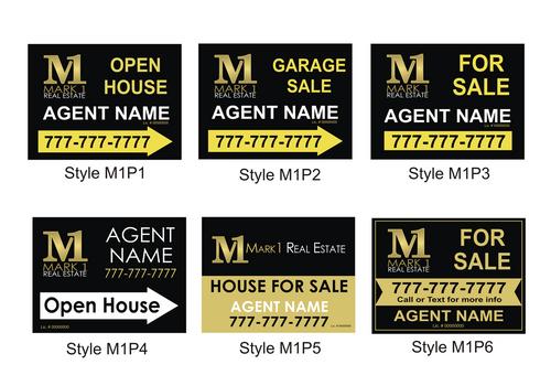 18 x 24 M1 Coroplast Personalized Yard Sign