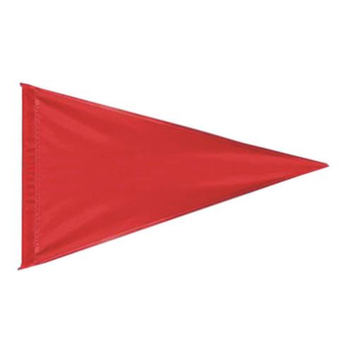 Nylon Pennant Flag - Red (Flag Only)