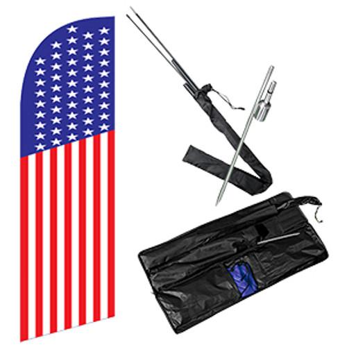 Feather Flag Kit American Flag